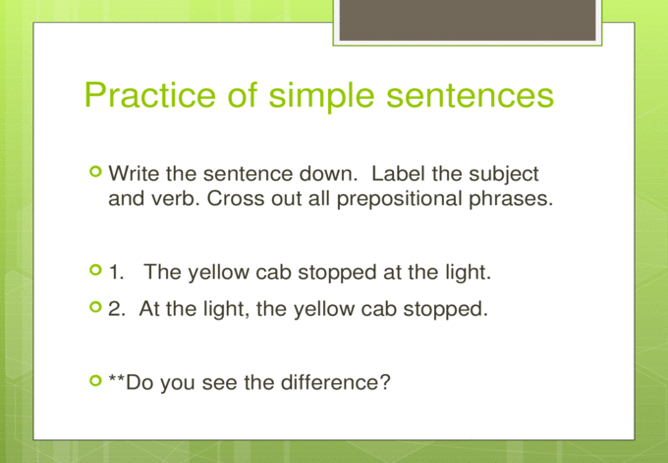 Sentence Structure Simple Compound Complex Compound ...