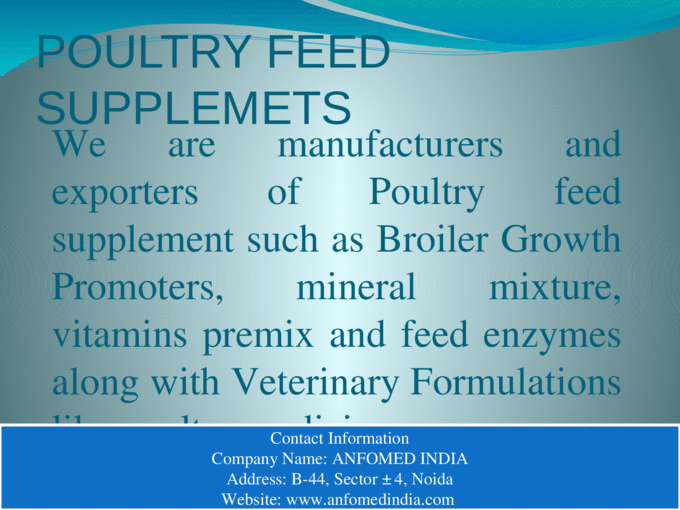 Vitamin Premix For Poultry