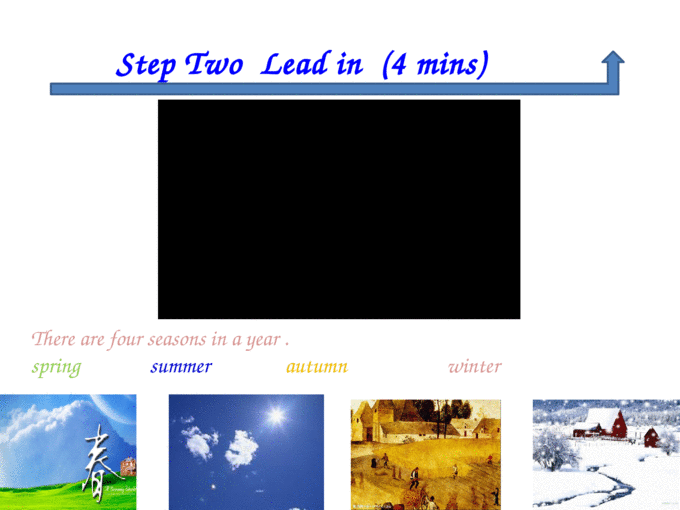 Unit 6 seasons   Step one Warming up 2mins - [PPT Powerpoint]
